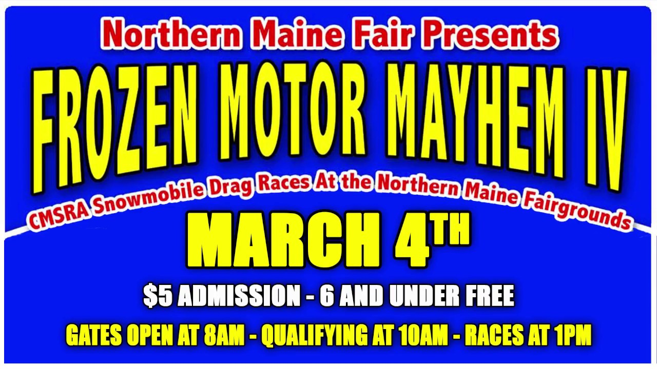 NORTHERN MAINE FAIRGROUNDS FROZEN MAYHEM IV RMVP294 HD CREDIT