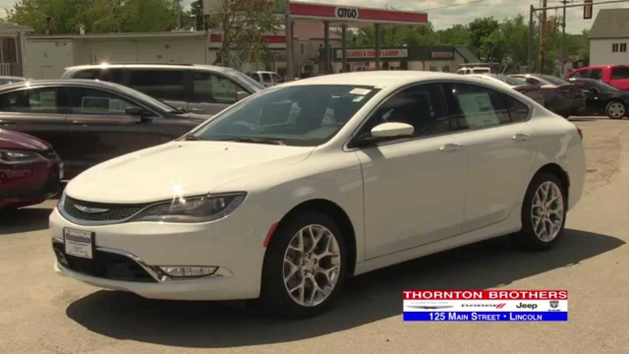 THORNTON BROTHER CHRYSLER 200C
