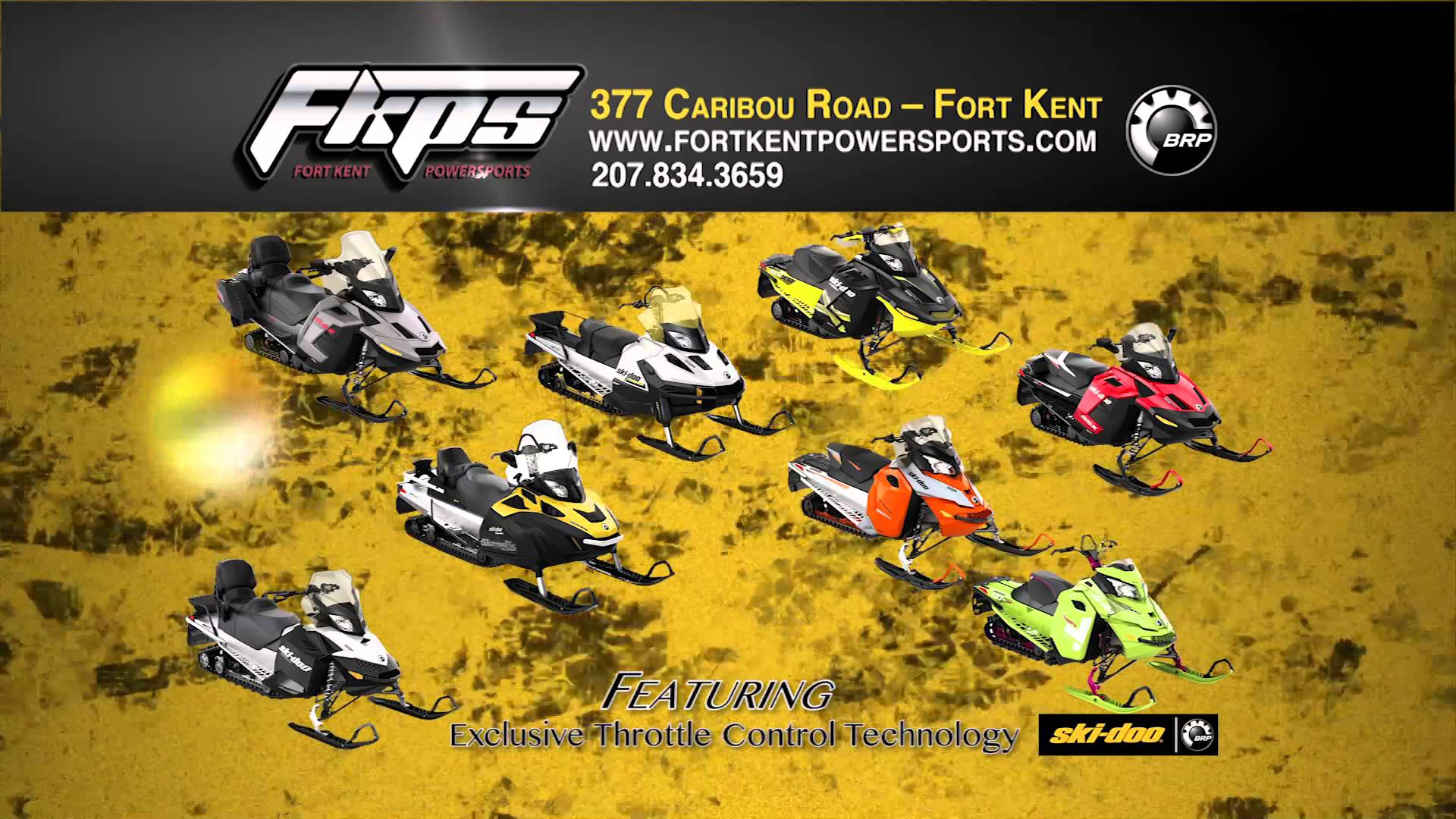 FORT KENT POWERSPORTS BRP 914 RMVP217A HD