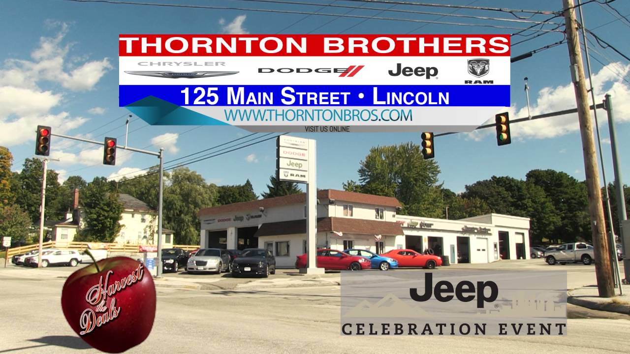 THORNTON BROTHERS 15 Sec JEEP CELEBRATION RMVP284B HD CREDIT