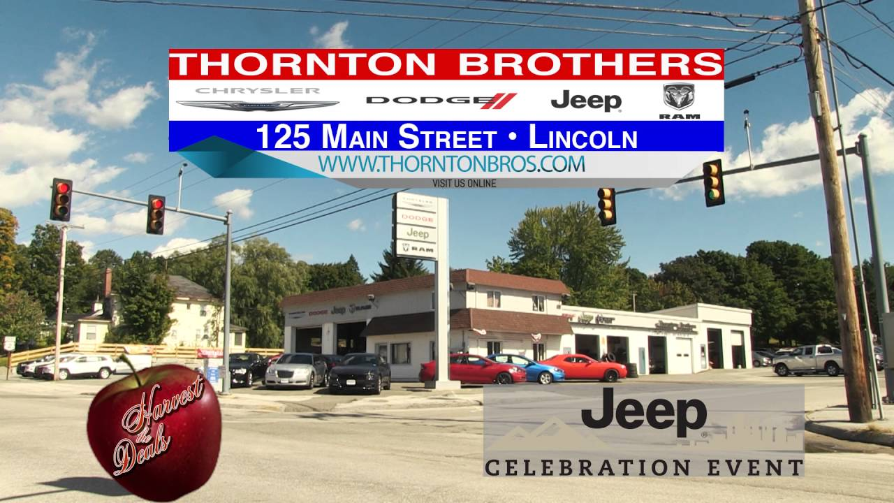 THORNTON BROTHERS HARVEST JEEP CELEBRATION RMVP284 HD CREDIT