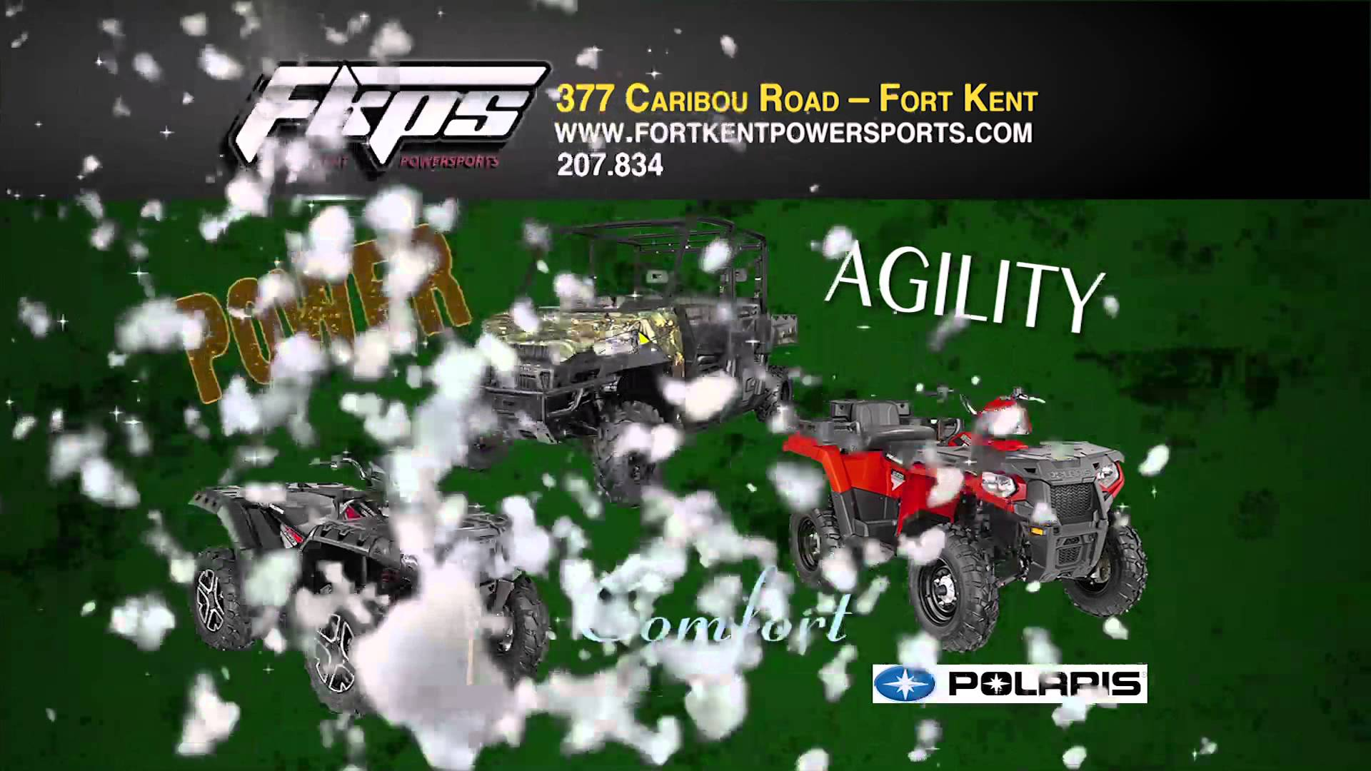 FORT KENT POWERSPORTS POLARIS 914 RMVP217B HD