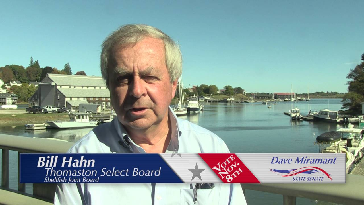 DAVE MIRAMANT FOR SENATE SHELFISHING TESTIMONIAL RMVP285E HD