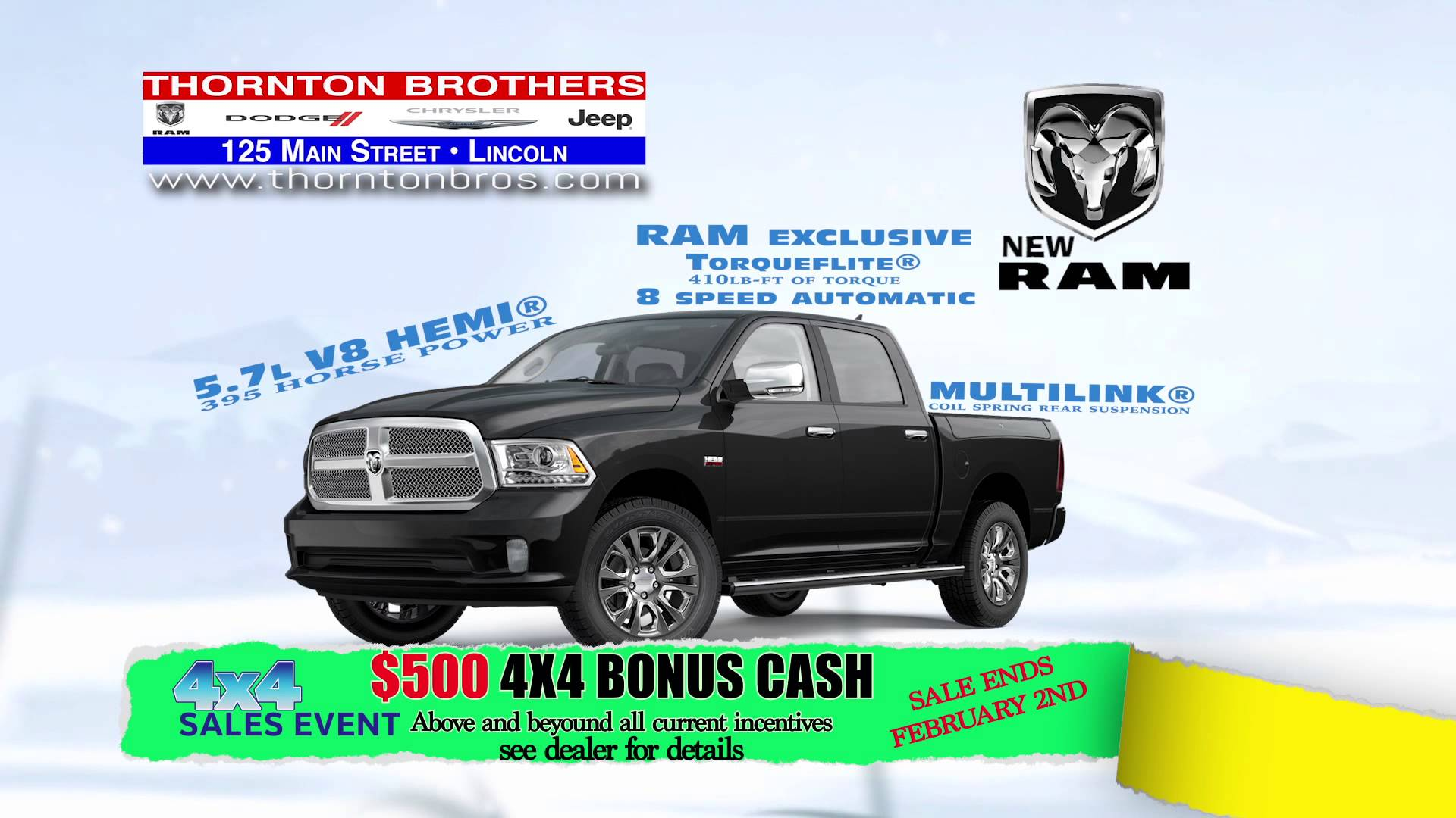 THORNTON BROTHERS_4X4 SALES EVENT 115R_RMVP235_HD