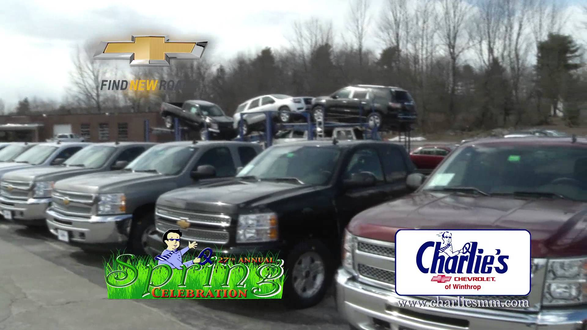 CHARLIES MOTOR MALL NEW CHEVY FRONT 414 RMVP185D HD