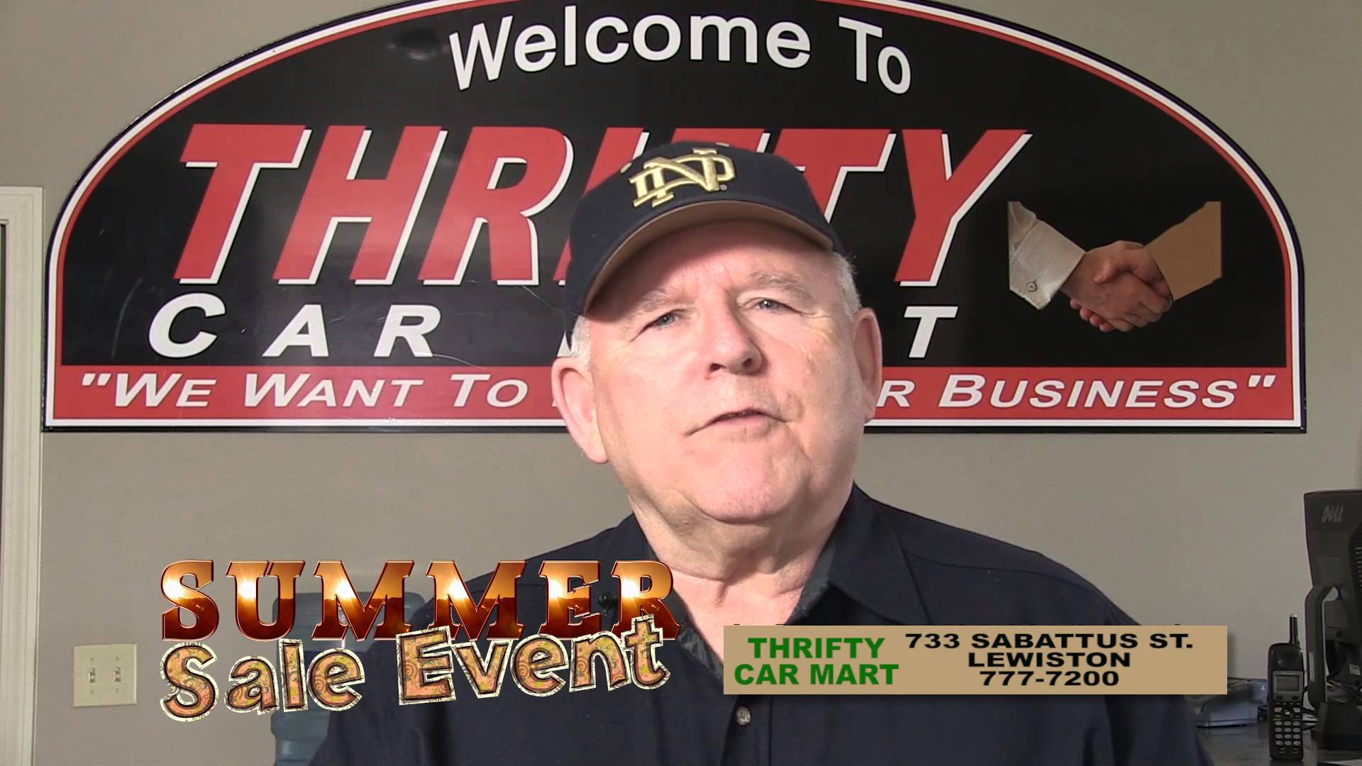 THRIFTY CAR MART SUMMER SALE 514 RMVP190A HD