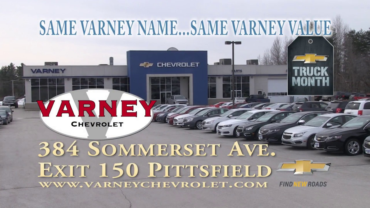 VARNEY CHEVROLET TRUCK MONTH 296 RMVP HD CREDIT