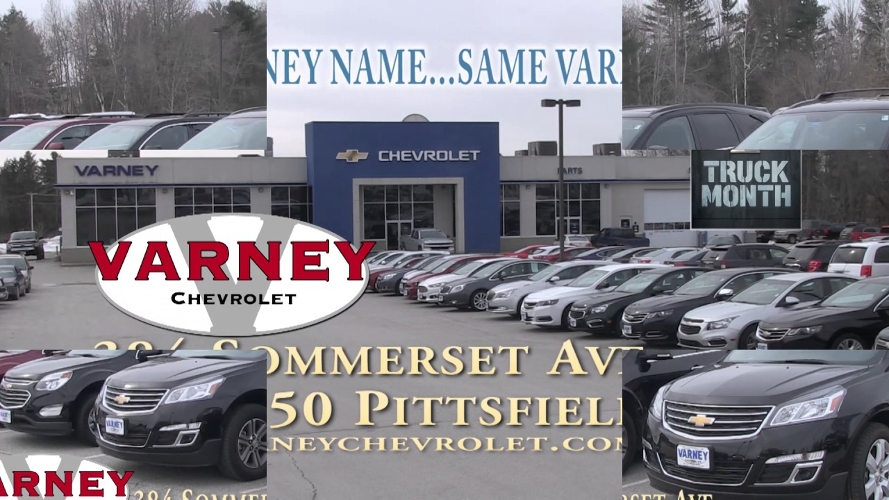 VARNEY CHEVROLET TRUCK MONTH 299 RMVP HD CREDIT