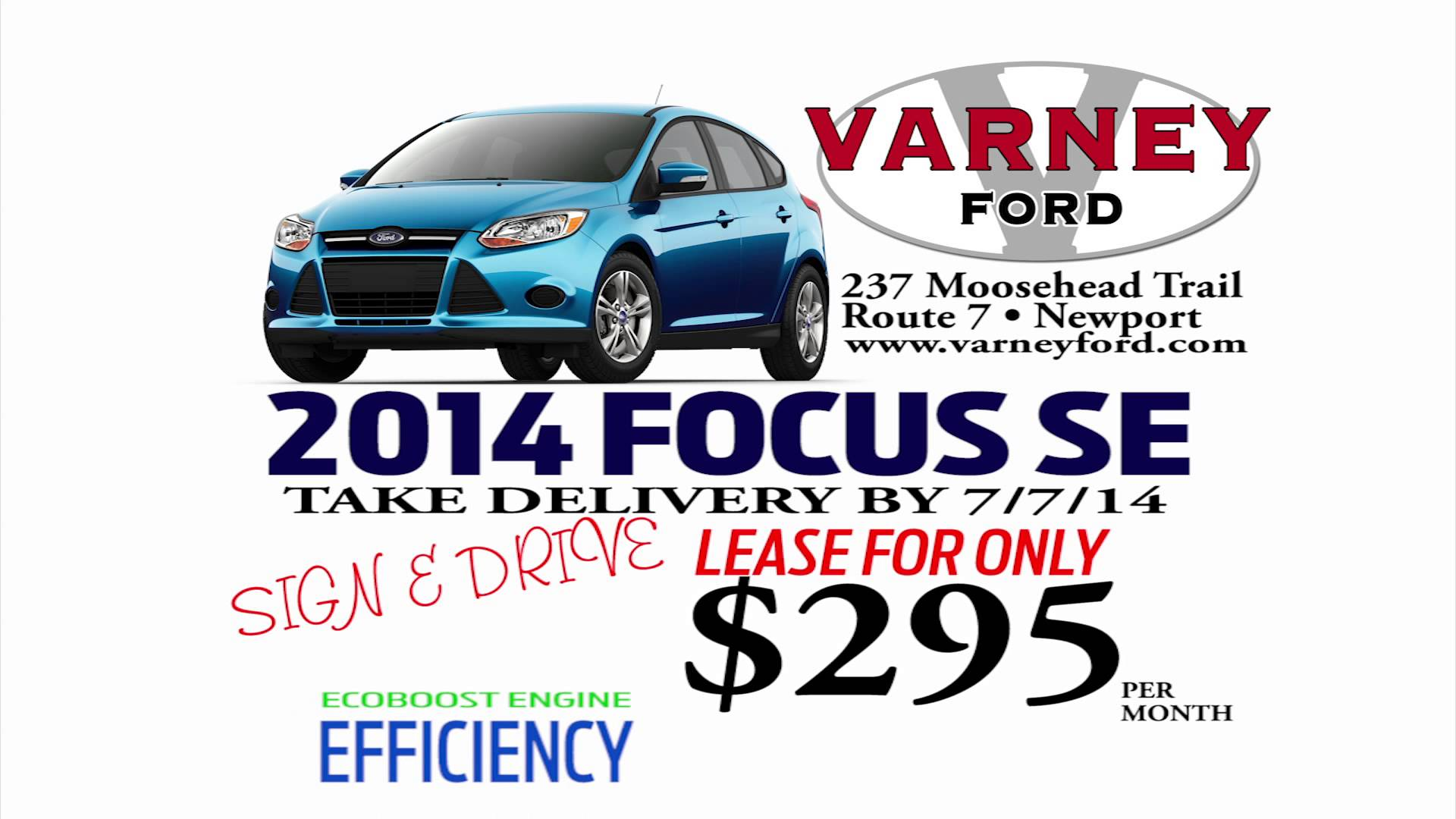 VARNEY FORD FOCUS 614 RMVP201B HD